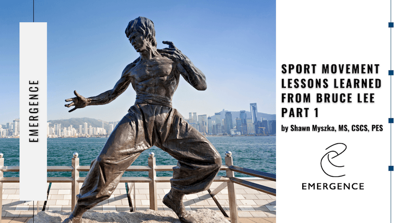 Sport Movement Lessons Learned from Bruce Lee  Pt. 1