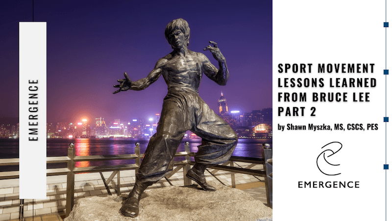 Sport Movement Lessons Learned from Bruce Lee Pt. 2