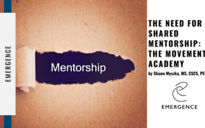 The need for shared mentorship: THE MOVEMENT ACADEMY