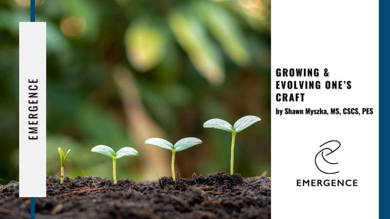 Growing & Evolving One's Craft